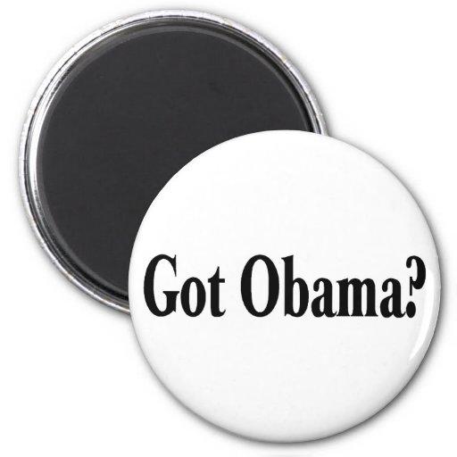 ¿Obama conseguido? Imán Redondo 5 Cm