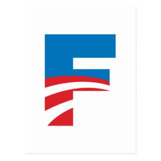 Obama consigue una F Postal