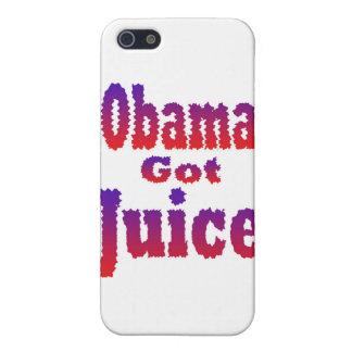 Obama consiguió a jugo el azul blanco rojo iPhone 5 fundas