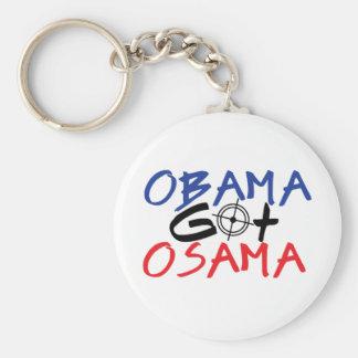 Obama consiguió Osama Llavero Personalizado