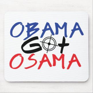 Obama consiguió Osama Tapete De Ratones