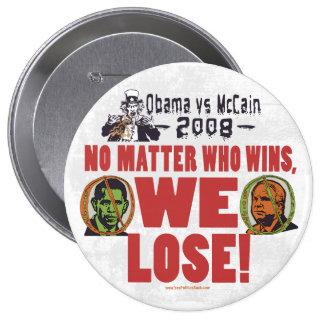 Obama contra McCain perdemos el botón