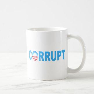 OBAMA CORRUPT COFFEE MUG