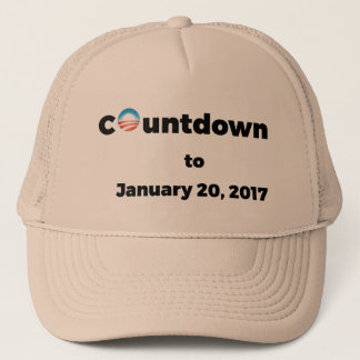 Obama Countdown Trucker Hat
