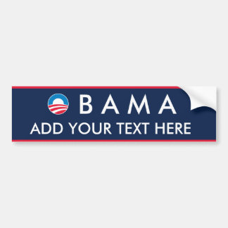 Obama: Cree sus los propios Pegatina Para Auto
