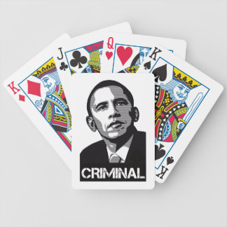 Obama Criminal Playing Cards