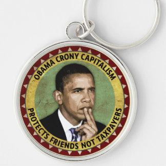 Obama Crony Capitalism Keychain