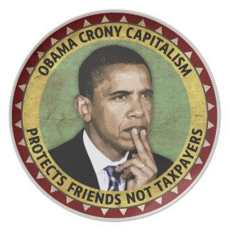 Obama Crony Capitalism Plate