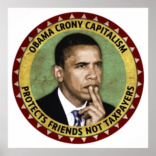 Obama Crony Capitalism Poster