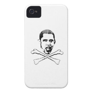 Obama Cross Bones Faded.png iPhone 4 Case-Mate Cases