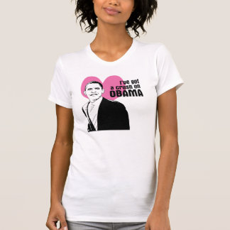Obama crush t-shirt