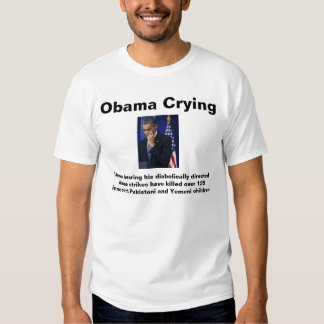Obama Crying Tee Shirts