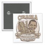 Obama cuatro más cervezas pin