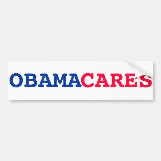 Obama cuida a la pegatina para el parachoques pegatina para auto