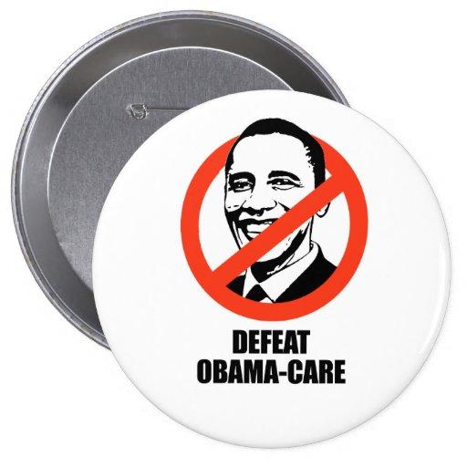 Obama-cuidado de la derrota pins