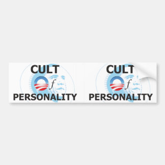 Obama Cult of Personality Bumper Sticker