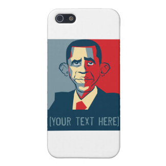 Obama custom text design covers for iPhone 5