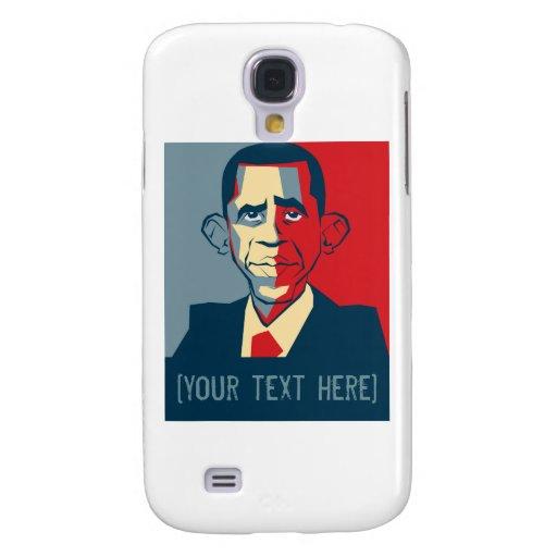Obama custom text design samsung galaxy s4 covers