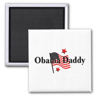 Obama Daddy 2 Inch Square Magnet