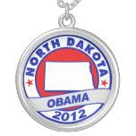 Obama - Dakota del Norte Colgantes Personalizados