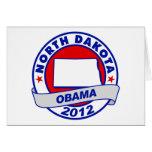 Obama - Dakota del Norte Felicitaciones