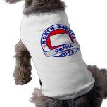 Obama - Dakota del Norte Ropa De Perro