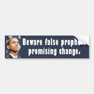 Obama DE PARACHOQUES 01 Etiqueta De Parachoque