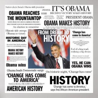 Obama: De sueño al poster del título de la