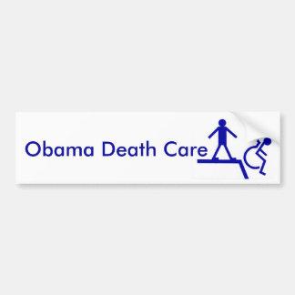Obama Death Care Bumper Sticker Car Bumper Sticker