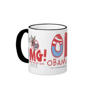 Obama debe ir 2012 taza