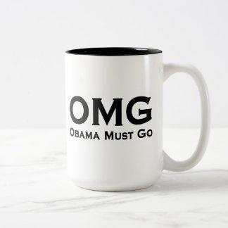 Obama debe ir Obama anti Taza