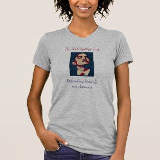 Obama: Defendiéndose, no América T-shirts