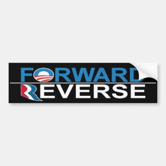 Obama delantero - pegatina para el parachoques rev pegatina para auto