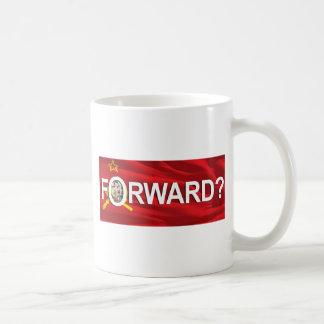 "¿Obama ""delantero? "" Taza De Café"