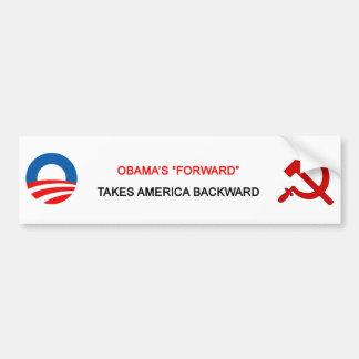 """Obama """"delantero"""" toma el parachoque de América al Pegatina Para Auto"""