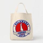 Obama - Delaware Canvas Bags