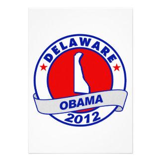 Obama - Delaware Custom Invites