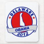 Obama - Delaware Mouse Pad
