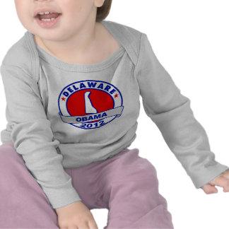 Obama - Delaware Camiseta