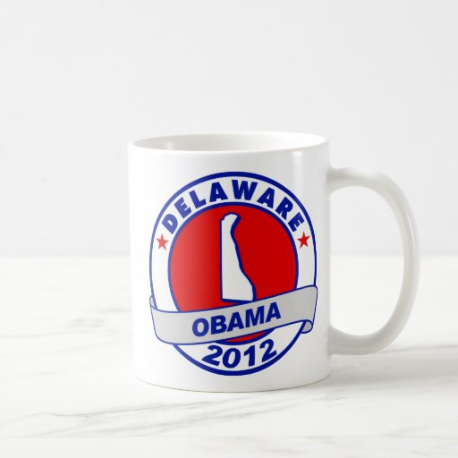 Obama - Delaware Taza De Café