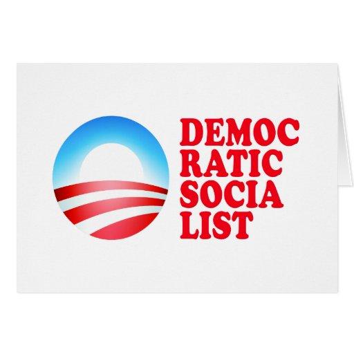 Obama Democratic Socialist Card
