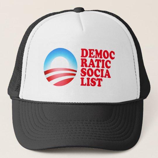 Obama Democratic Socialist Trucker Hat