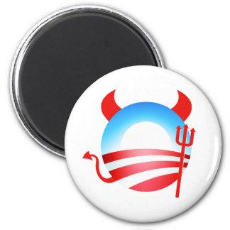 Obama Devil 2 Inch Round Magnet