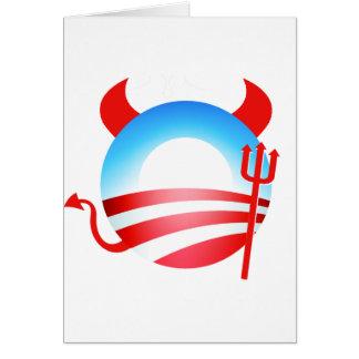 Obama Devil Card