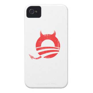Obama devil - Copy Faded.png iPhone 4 Cases