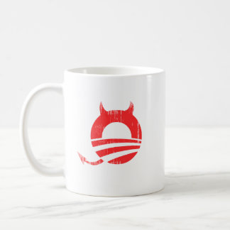 Obama devil - Copy Faded.png Coffee Mugs