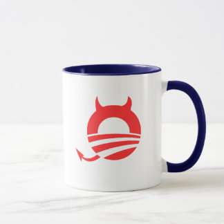 Obama devil mug
