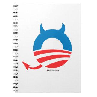 Obama Devil Note Book