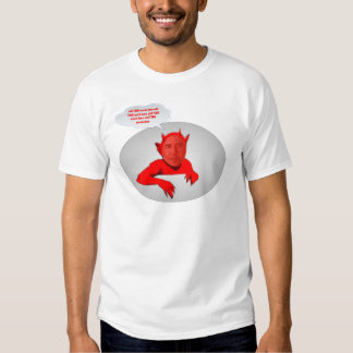 Obama Devil Political template Tee Shirt