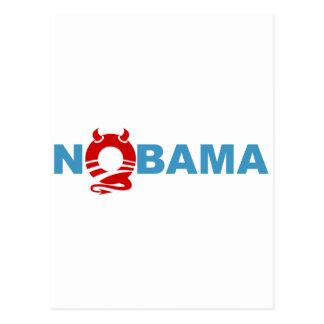 obama devil postcard
